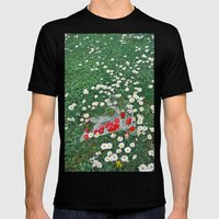Daisies & Candies Mens Fitted Tee Black SMALL