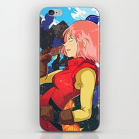 Haruko iPhone & iPod Skin
