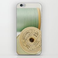 Cotton iPhone & iPod Skin