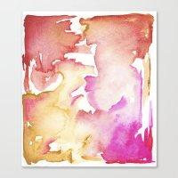 pink wash Canvas Print