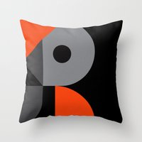 Letter R Throw Pillow