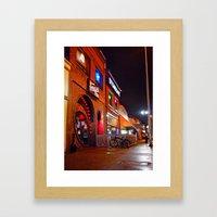 South Tacoma night scene Framed Art Print