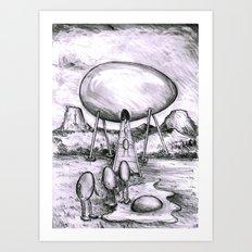 visitation Art Print