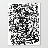 Vexed Canvas Print