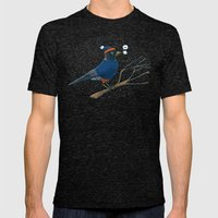 Annoyed IL Birds: The Ro… Mens Fitted Tee Tri-Black SMALL