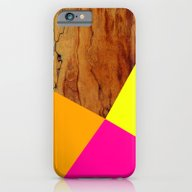 Wooden Colour Blocking iPhone 6 Slim Case
