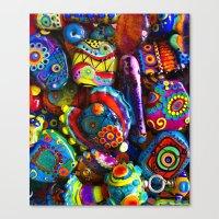 GlassART by me Canvas Print