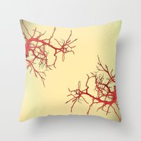 branches#03 Throw Pillow