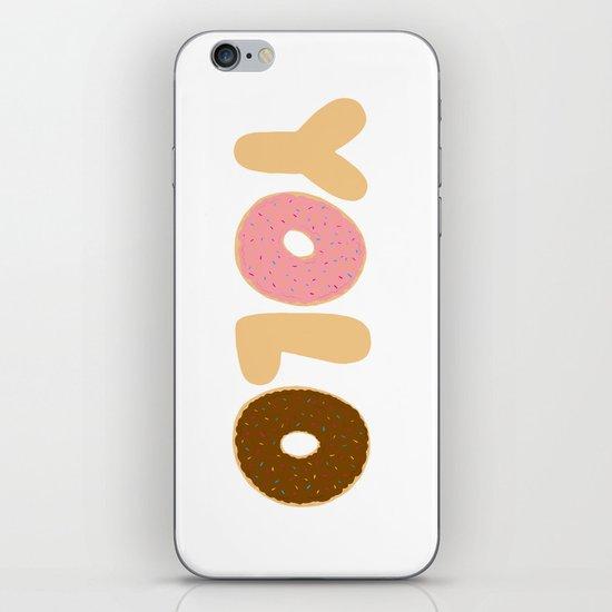 YOLO Donuts iPhone & iPod Skin