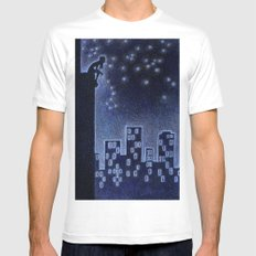 Big Dipper SMALL White Mens Fitted Tee