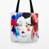 Water Color Sketch Tote Bag