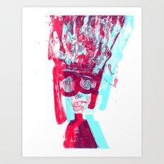 poetrait3 Art Print