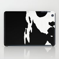 Doll Silhouette Black iPad Case