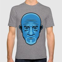 Mike from Breaking Bad Mens Fitted Tee Tri-Grey SMALL