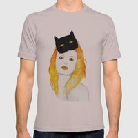 Be a cat Mens Fitted Tee Cinder SMALL
