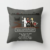 Aragorn Trail Throw Pillow