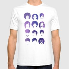 Prince Mens Fitted Tee White SMALL