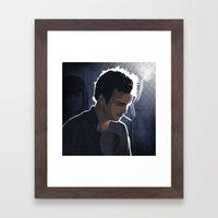 Breaking Bad Illustrated - Jesse Pinkman Framed Art Print