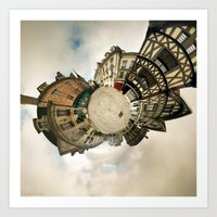 Worlds - Auxerre, France Art Print