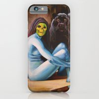 iPhone & iPod Case featuring Seated Sorcerer by Hillary White