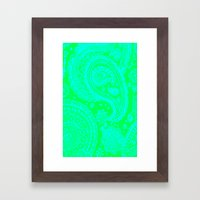 Paisley 2 Framed Art Print