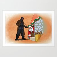 Omar Little Strikes Agai… Art Print