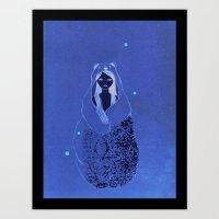Bear Child Art Print