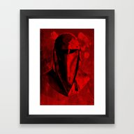 Framed Art Print featuring The Emperor's Royal Guar… by Some_Designs