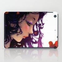 Les fleurs rouges... iPad Case