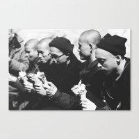 Tourists Canvas Print
