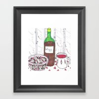 Seasons Greetings.. Framed Art Print