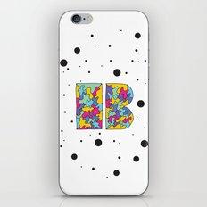 Letter B iPhone & iPod Skin