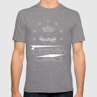 Mother Mens Fitted Tee Tri-Grey SMALL