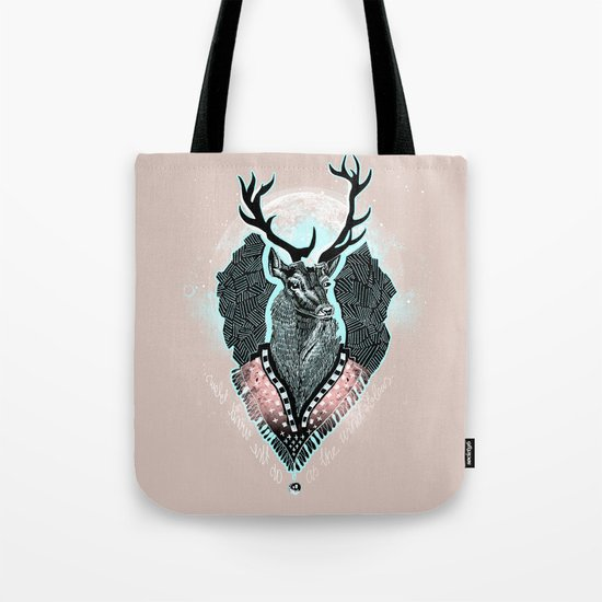 Wind:::Deer Tote Bag