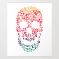 Death By Paisley Art Print
