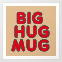 Big Hug Art Print