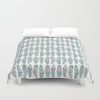 Feathers of Nature Duvet Cover