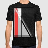 Off the Beaten Path.  Mens Fitted Tee Tri-Black SMALL