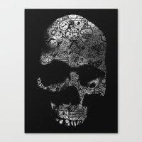 Endless Doodle Canvas Print