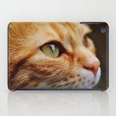 cat face 4 iPad Case