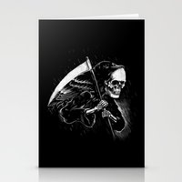 DEATH WILL HAVE HIS DAY Stationery Cards