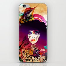 Afro Girl iPhone & iPod Skin