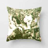 Nature Over Machines Throw Pillow