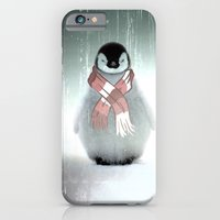 PENGUIN WITH SCARF iPhone 6 Slim Case