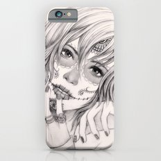 Sugar Skull Girl 2 Slim Case iPhone 6s
