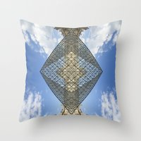 Louvre Drugs Throw Pillow