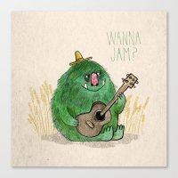 Monster Jam Canvas Print