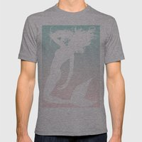 Mermaid. Mens Fitted Tee Athletic Grey SMALL
