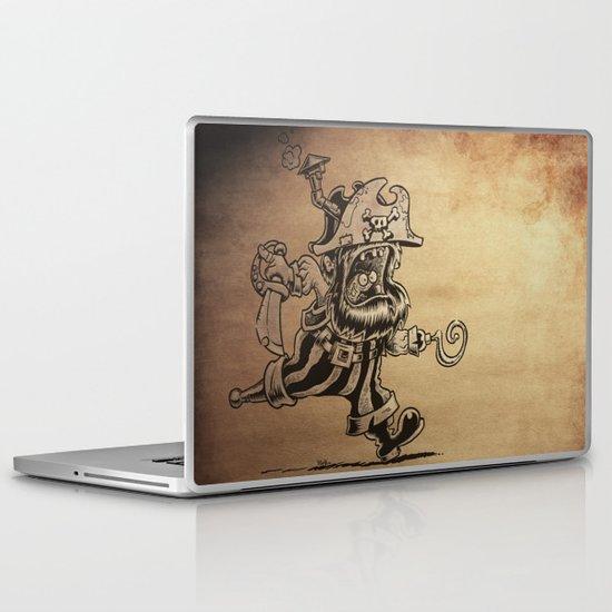 Steam powered Pirate Laptop & iPad Skin