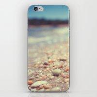 Pebbles Along the Shoreline iPhone & iPod Skin